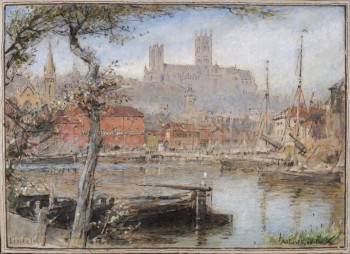 Albert Goodwin, RWS Lincoln