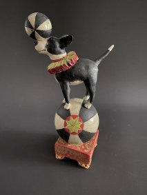 Balancing Dog - £640 NOW SOLD