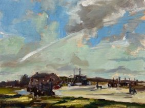 High Tide Afternoon, Rye Harbour - £235