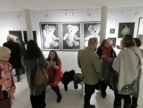 Chatting in Gallery 3