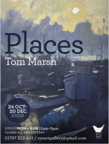 Tom Marsh Exhibition Poster