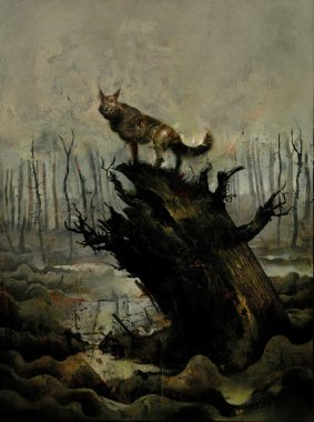 Black Dog Cover The Dreams Of Paul Nash WR 671x900