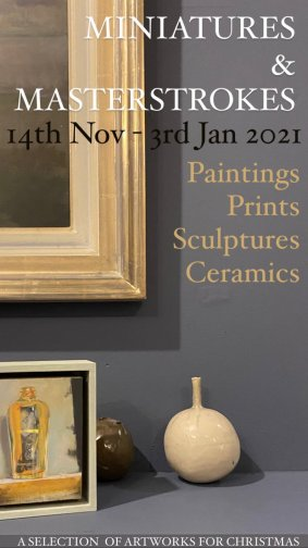 Miniatures And Masterstrokes Exh Nov20