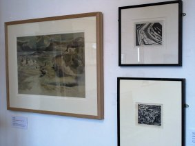 Paul Nash Wc And Woodcuts Small